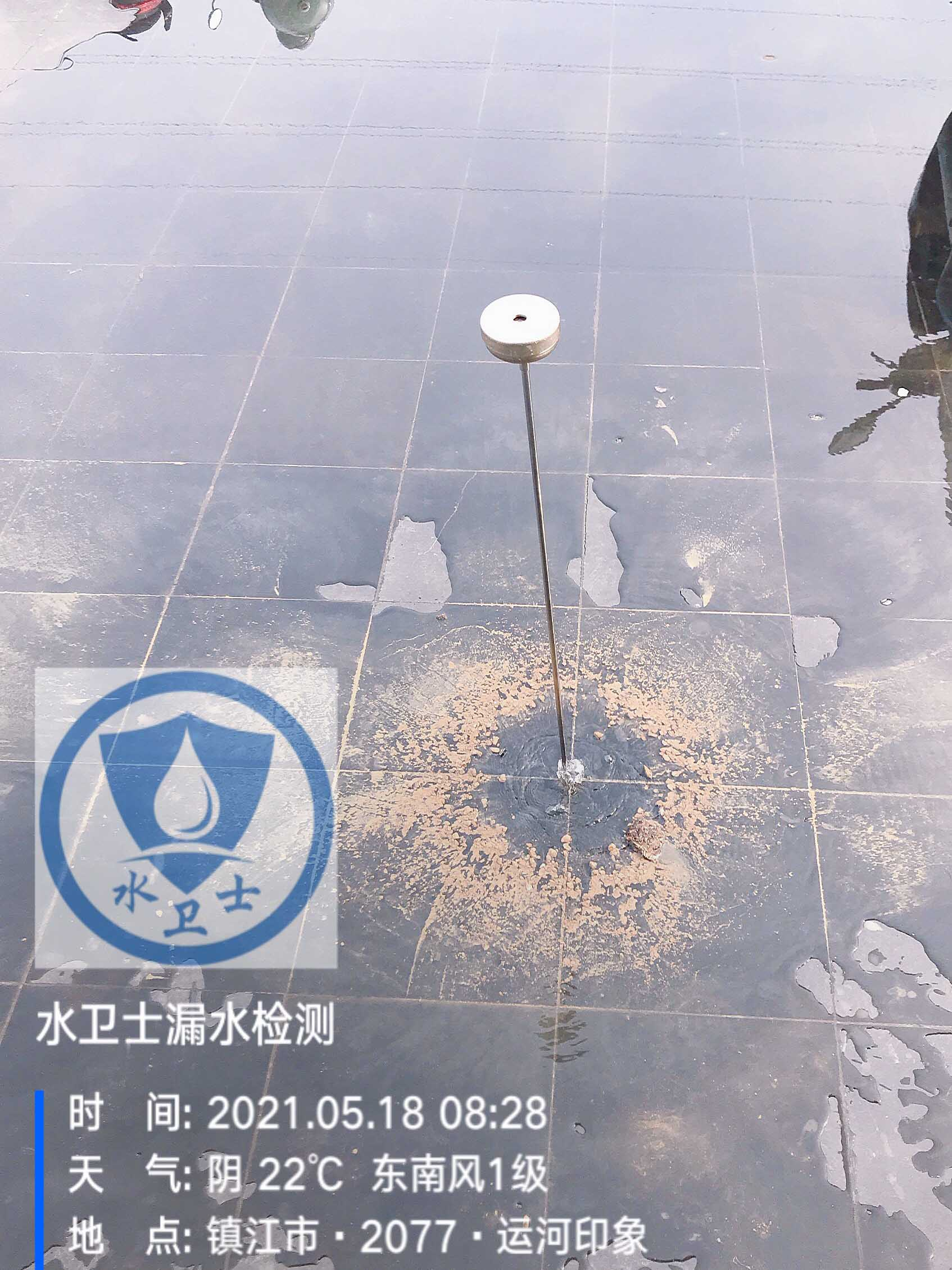 镇江管道漏水检测案例